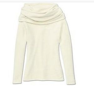 Athleta cocoon cowl neck sweater